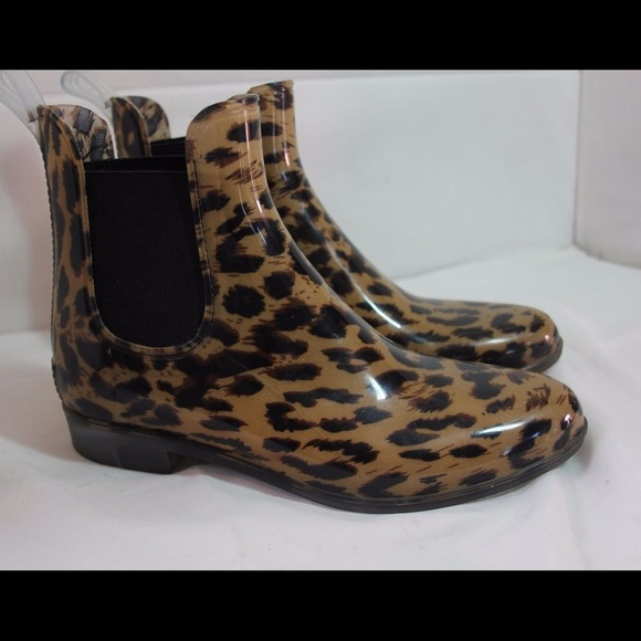 d06a9326a0b4 J. Crew Shoes | Jcrew Cheetah Print Rain Boots Price Drop | Poshmark